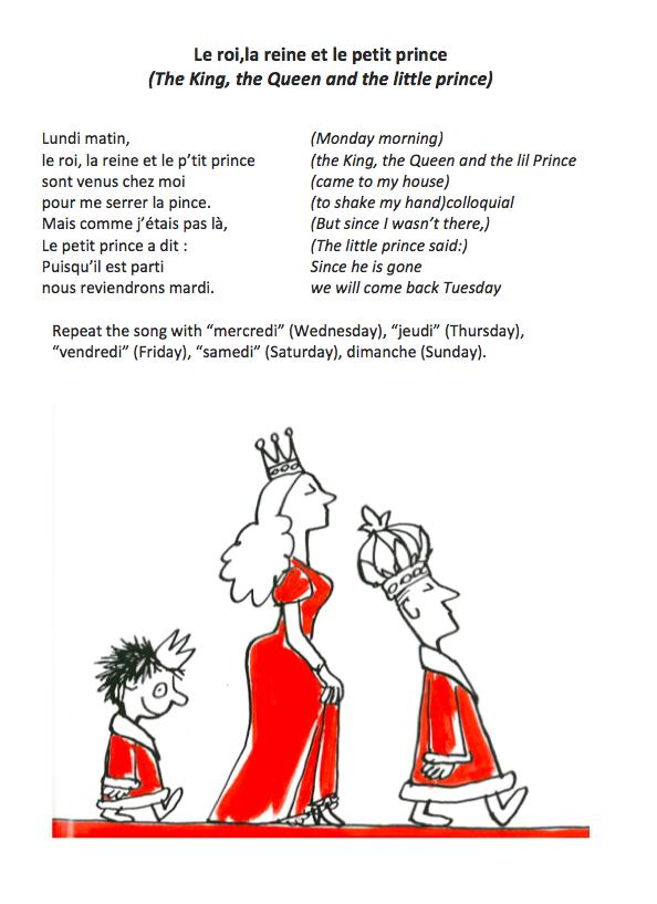 Le Roi, La Reine Et Le Petit Prince
